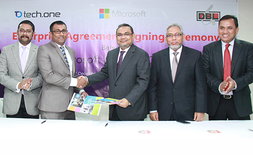 Microsoft-DBL Group Agreement Signing-TechShohor