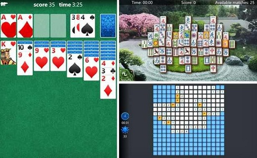 Solitaire-Mahjong-and-new-Minesweeper_techshohor