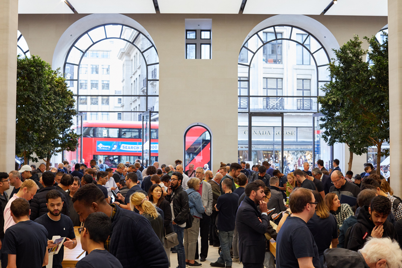 London-Apple-Store-techshohor
